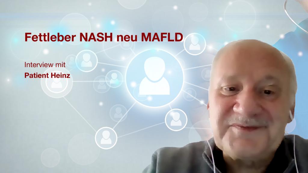 Fettleber (NASH / MAFLD): Interview mit Patient Heinz
