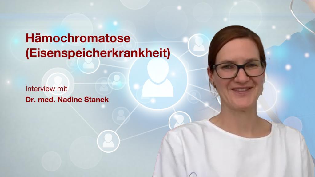 Hämochromatose (Eisenspeicherkrankheit): Interview mit Dr. med. Nadine Stanek