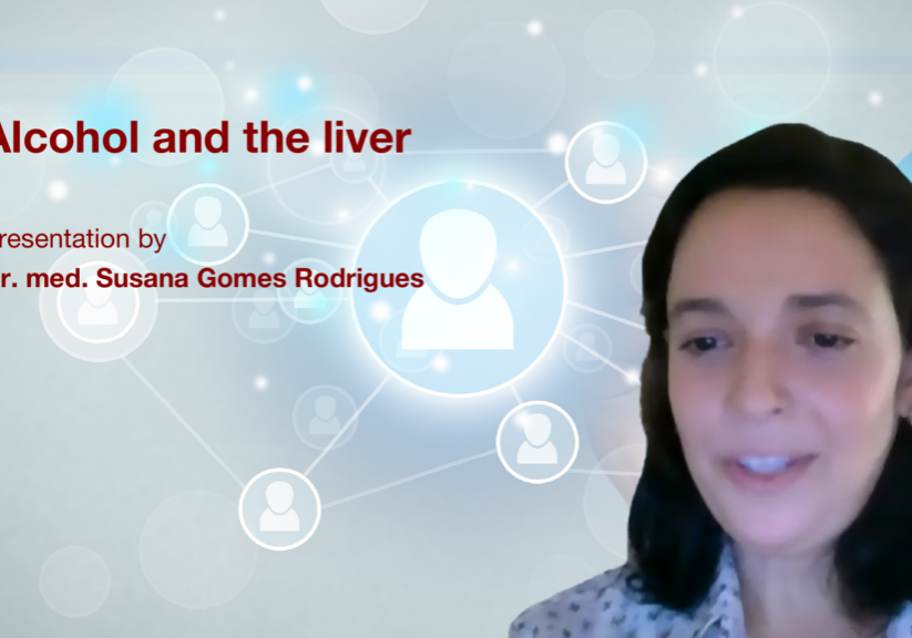 Alcohol and the liver: Presentation by Dr. med. Susana Gomes Rodrigues