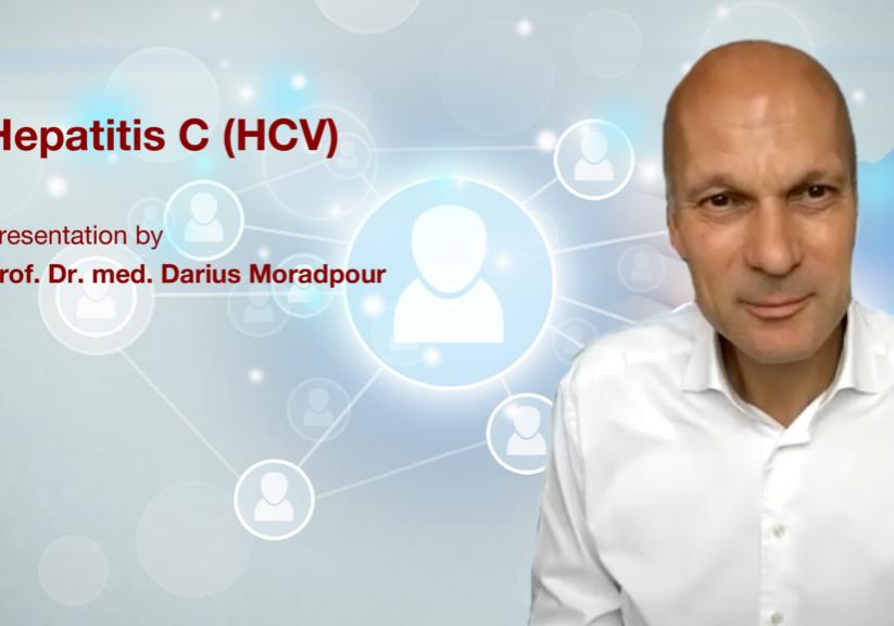 Hepatitis C (HCV): Presentation by Prof. Dr. med. Darius Moradpour