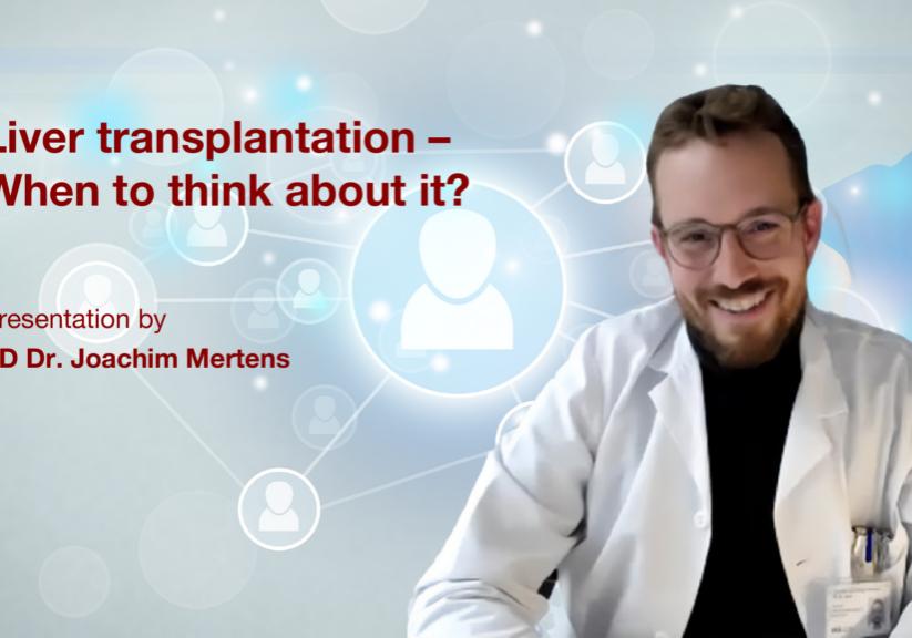 Liver transplantation: Presentation by PD. Dr. Joachim Mertens