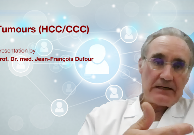 HCC/CCC tumours: Presentation with Prof. Dr. med. Jean-François Dufour